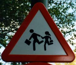 Beware of schoolchildren III