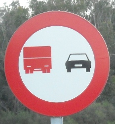 Lorry No-overtaking I
