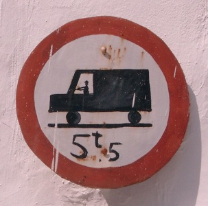 Lorry in Spain