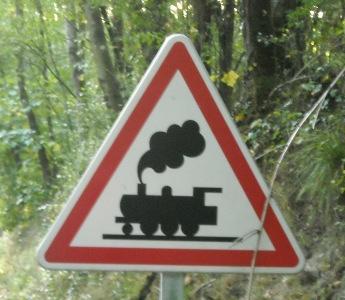 Train in Normandy