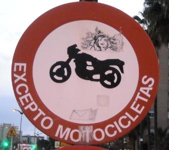 Malaga motorbike
