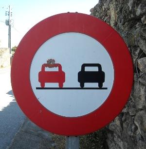 Portuguese No-overtaking I