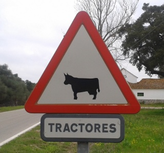Cow-tractor