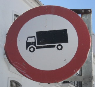 Lorry in San Roque