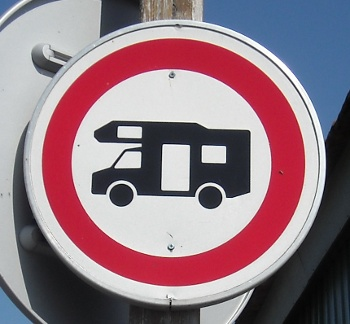 No motorhomes at Port de Salines