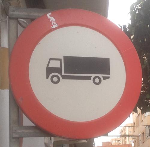Mislata lorry