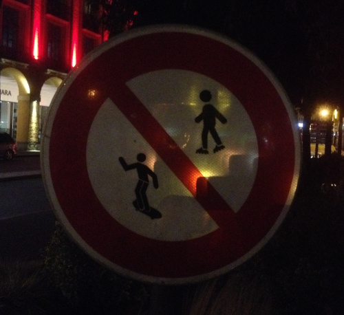 Both skating and skateboarding forbidden in Dieppe